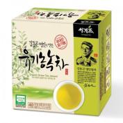 Ssanggye Tea Organic Green Tea Jakseol 40 Tea Bags