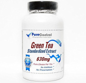 Green Tea Standardised Extract 630mg // 100 Capsules // Pure // by PureControl Supplements