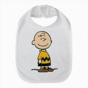 Charlie Brown Snoopy Good Boy Baby Bib Cotton hook and loop Fastener Closure