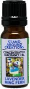 Concentrated Fragrance Oil - Scent - Lavender Ming Fern- Ming Fern w/ blue lavender, ginger, patchouli, oak moss,Kaffir lime w/ lemon leaf Made w/essential oils
