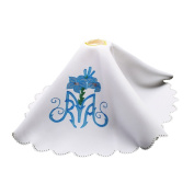 Blessume Altar Cloth Chalice Veil Flower Lily Pritned Pall