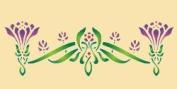 Geometric Floral 10.5 X 4