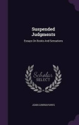 Suspended Judgments