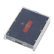 U. S. Stamp & Sign T5470 Dater Replacement Ink Pad, 4.1cm Width x 6.4cm depth, Red/Blue