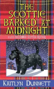The Scottie Barked at Midnight [Large Print]