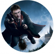 Harry Potter Hogwarts Edible Image Photo Sugar Frosting Icing Cake Topper Sheet Birthday Party - 20cm Round - 73832