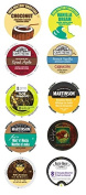 10 Single Serve Cup 2.0 Compatible Variety Sampler, work in the new Keurig® 2.0 Brewers. Mix it up, try coffee, decaf, tea, cocoa+