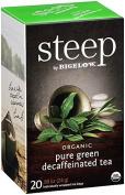 Bigelow Organic Pure Green Decaffeinated Tea, 20 Count