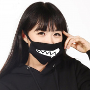 ZWZCYZ Cotton Men and Women Boys and Girls Lioness Drooling Face Mask Good Boy Anti-dust Mouth Mask Cute Muffle Muzzle
