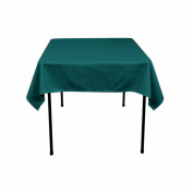Restaurant Polyester Tablecloth 110cm x 140cm (TEAL) By Runner Linens Factory