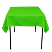 Square Polyester Tablecloth 110cm x 110cm (APPLE GREEN) By Runner Linens Factory