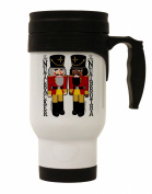 TooLoud The Nutcracker and Nutbrotha Stainless Steel 410ml Travel Mug