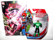 "Green Lantern Gift Pack !! EXCLUSIVE Justice League Action Figure & COLLECTIBLE DC Comic Book "" Justice Society Of America"" Issue #15-June 2008"