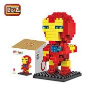 LOZ Diamond Blocks Nanoblock the Avengers Iron Man Educational Toy 130pcs