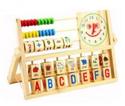 New Baby Toys Montessori Educational Wooden Toys Teaching Logarithm Version Kids Wooden Blocks learning & education Toys