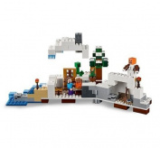 block-Star Wars- block ®Minecraft Premium First Snow Hideout -Educational Toys-327 Pieces-Build to survive with The Snow Hideout-Guaranteed!