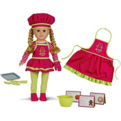 Cookie Baker Doll - Gingerbread Apron