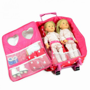 Double Doll Travel Case with Double Doll Sleeping Bag