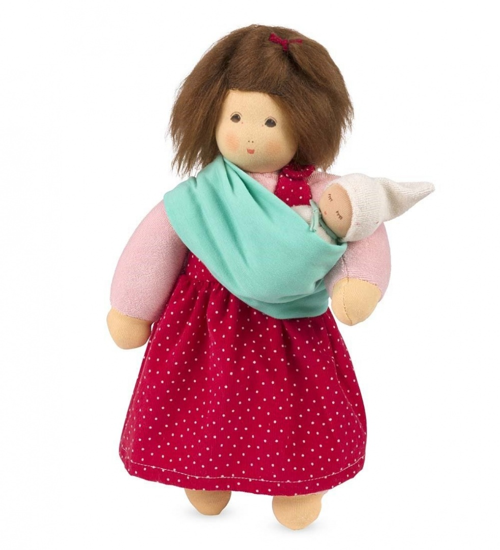 f96e1806c7d Cuddle-Me-Close Mother with Baby in Sling Doll by NanChen - Shop ...