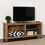 New 150cm Wide Barnwood Finish Television Stand