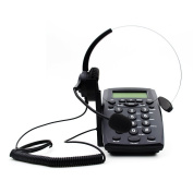 HQTelecom Hands-free Headset with Backlight Caller ID LCD Display
