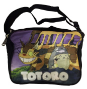 Totoro and Cat Bus Soft Lunchbox with Adjustable Handle