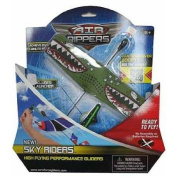 Air Rippers High Flying Stunt Glider Plane Green Monster Toy Plane