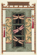 Dimensions Needlecrafts Counted Cross Stitch, Dragonfly Scroll