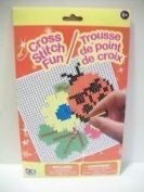 (X2) Cross stitch Fun ~ assorted, styles vary.