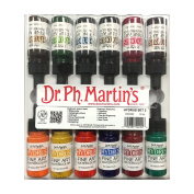Dr. Ph. Martin's Hydrus Fine Art Watercolour Bottles, 15ml, Set of 12