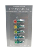 Celebrations 11206-71 Micro LED Replacement Bulbs, Multicolor, Cd/5