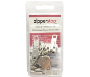 ZipperStop Wholesale - Zipper Repair Kit Solution 9 Sets YKK® Auto Lock Sliders Assorted 3 of #3, 2 of #5, 2 of #7 and 2 of #10 Included Top & Bottom Stops Made in USA