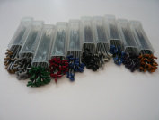 30 Mixed Felting Needles - 10 Different types - Triangular, Star, Reverse and Twisted Needles