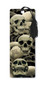 Dimension 9 3D Lenticular Bookmark with Tassel, Skulls and Crosses