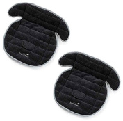Summer Infant Total Coverage Car Seat PiddlePad, 2 Count