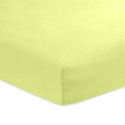 Carter's Sateen Fitted Crib Sheet, Country Green