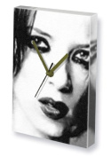 SHIRLEY MANSON - Canvas Clock (A5 - Signed by the Artist) #js001