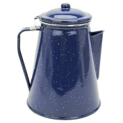 Stansport 8 Cup Percolator Enamel Coffee Pot with Basket by StanSport