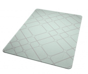 Laundry Solutions by Westex Round Squares Portable Ironing Pad, Teal
