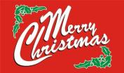 MERRY CHRISTMAS 0.9mx1.5m Flag