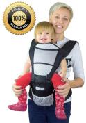 Nimnyk Baby Carrier Sling - Ergonomics, Best Lumbar Support, 3 Months+