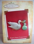 Hallmark Keepsake Ornament - Baby's First Christmas 2004