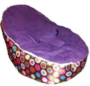 Baby Beanbags for Newborns to Toddler Kids Portable Bean Bag Seat Filled, Ready to Use