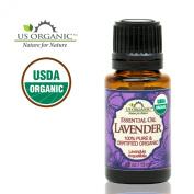 US Organic 100% Pure Lavender Essential Oil - USDA Certified Organic - 15 ml