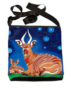 Small Cross Body Handbag -Wearable Art - From My Original Paintings, Support Wildlife Conservation, Read How