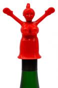 Fairly Odd Novelties Mrs. Perky Novelty Bottle Stopper, Red
