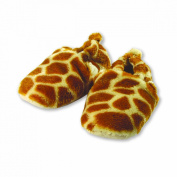The Babymio Collection Booties, Millie the Giraffe, 12 Months