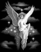 Reeves Angel Scraperfoil Artwork, Silver