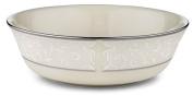 Lenox Pearl Innocence Platinum Banded Ivory China All Purpose Bowl