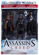 McFarlane Toys Series 1 Assassin's Creed Pirate Action Figure, 3-Pack